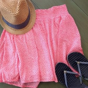 Old Navy coral skirt